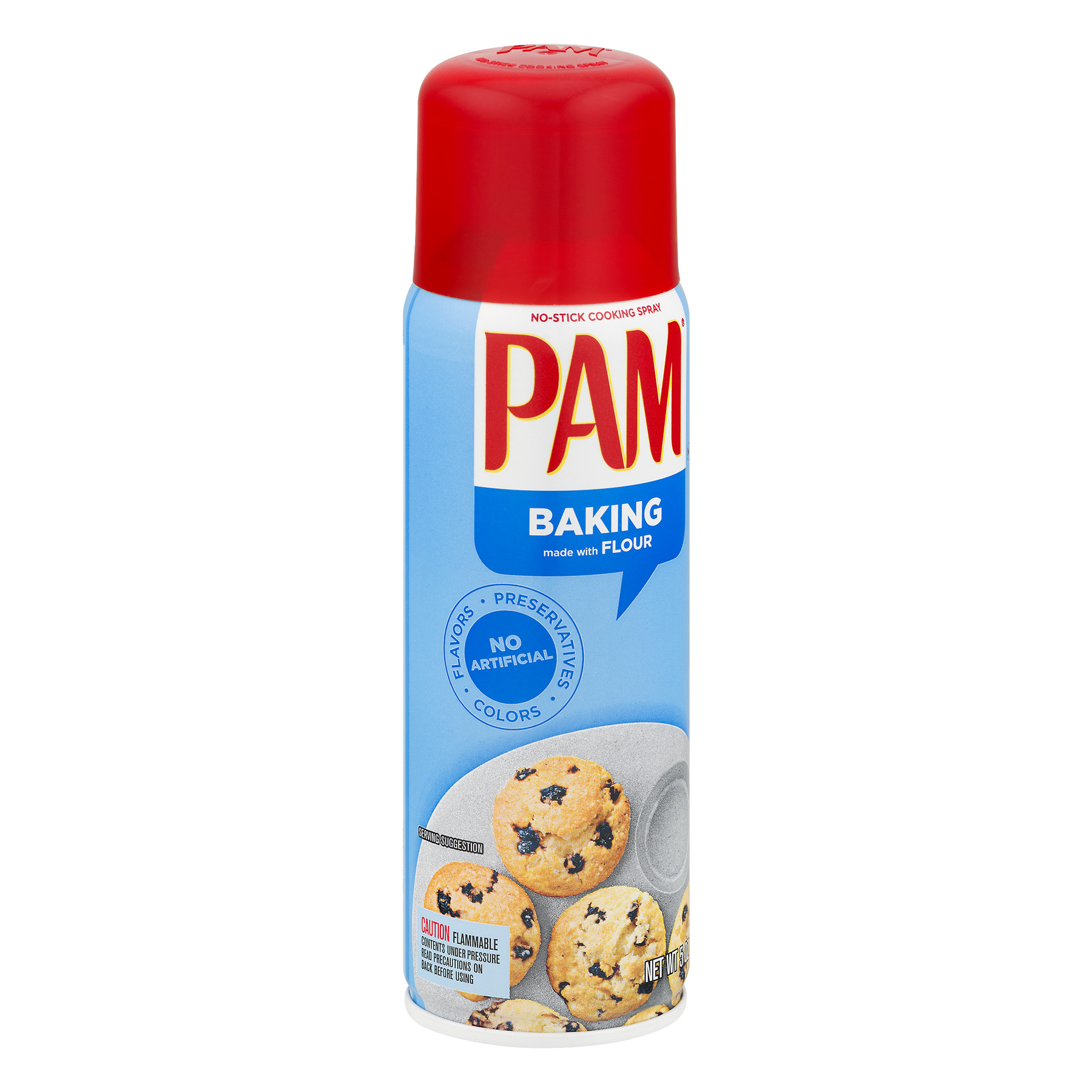 Pam Happy Baking No-Stick Cooking Spray, with Flour, 5 Oz - Walmart.com