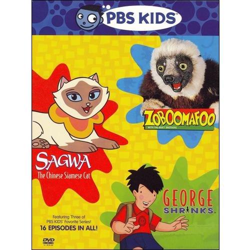 Pbs Kids Pack Zoboomafoo Sagwa The Chinese Siamese Cat