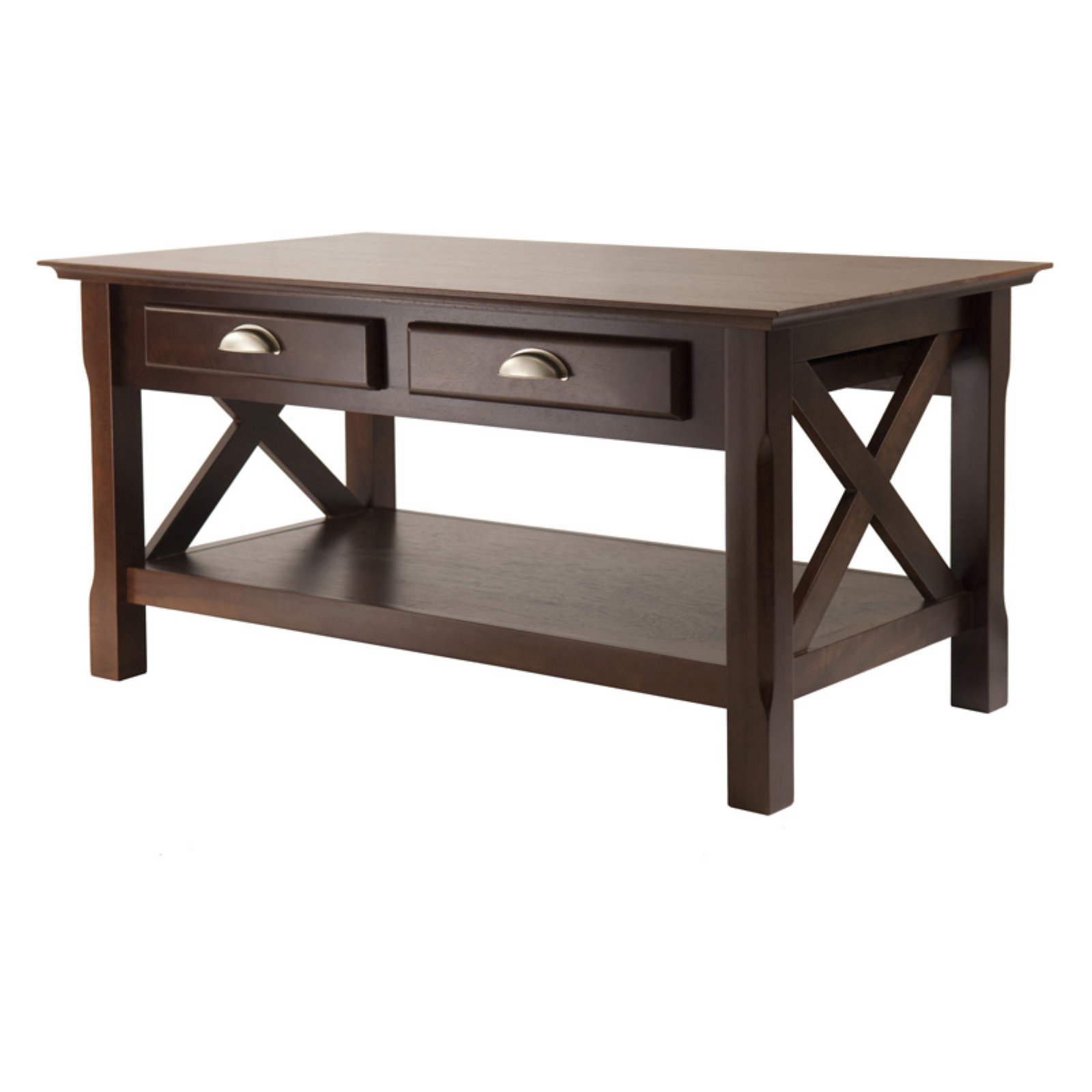 Winsome Xola Coffee Table with 2 Drawers