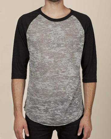 f7f68ce7 Alternative-Mens Classic Burnout Big League Baseball Fashion T-Shirt-AA2640