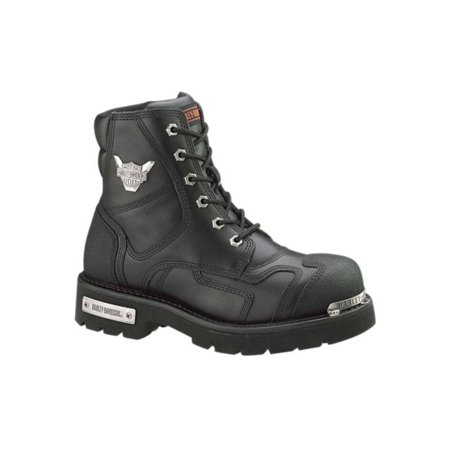 Harley Davidson Motorcycle Patches (Harley-Davidson Men's Stealth Motorcycle Boots. Patch Lace Black Riding D91642, Harley)