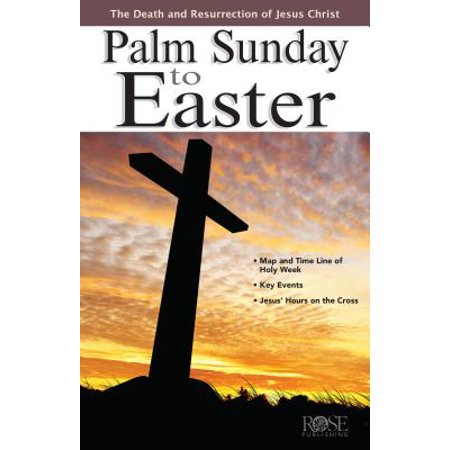 (Palm Sunday to Easter Pamphlet)