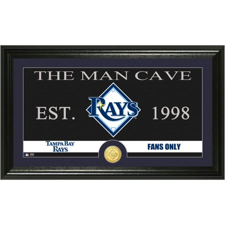 The Highland Mint MLB Man Cave Bronze Coin Panoramic Photo Mint, Tampa Bay Rays by