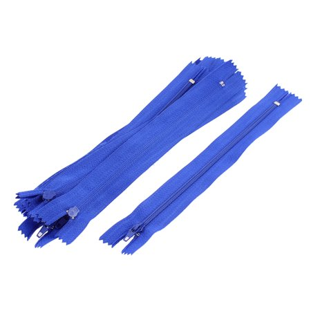 - Unique Bargains Dress Pants Closed End Nylon Zippers Tailor Sewing Craft Tool Blue 18cm 10 Pcs for Home Essential