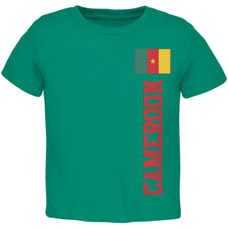 World Cup Cameroon Green Toddler T-Shirt