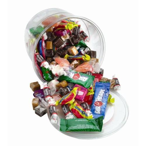 Office Snax Variety Tub Candy - Resealable Container, Individually Wrapped - 2 Lb - 1 Each (OFX00013)