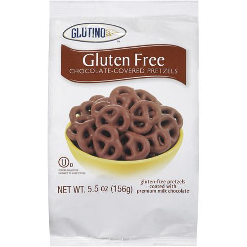 Glutino Gluten Free Chocolate-Covered Pretzels, 5.5 oz