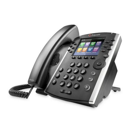 Level Desktop Ip Phone (Polycom 400 IP Phone - Cable - Desktop - 12 x Total Line - VoIP - Speakerphone - 2 x Network (RJ-45) - PoE Ports - Color )
