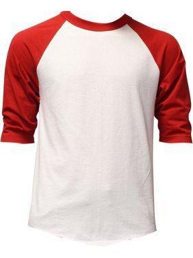 8d4908303 Product Image Mens 3/4 Sleeve Raglan Baseball T Shirt
