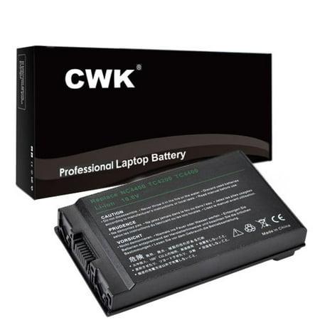 CWK Long Life Replacement Laptop Notebook Battery for HP Compaq 4200 NC4200 NC4400 TC4200 TC4400 HSTNN-C02C HSTNN-IB12 PB991A NC4400 381373-001 383510-001