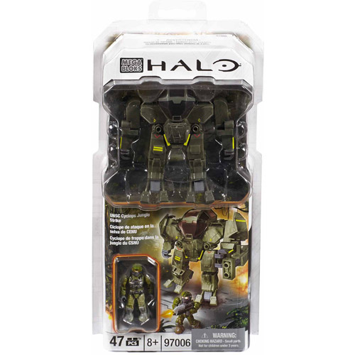 Mega Bloks Halo Stgd Jungle Strike