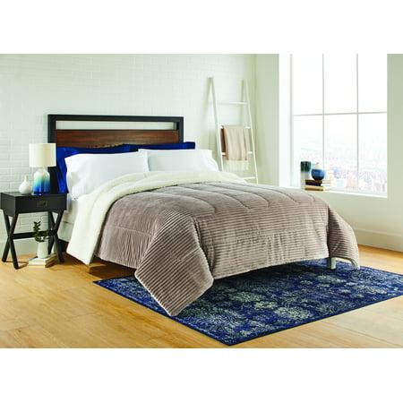 Better Homes & Gardens Textured Tan King Comforter, 1 Each