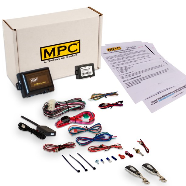 1-Button Remote Start/Keyless Entry Kit For 2000-2001