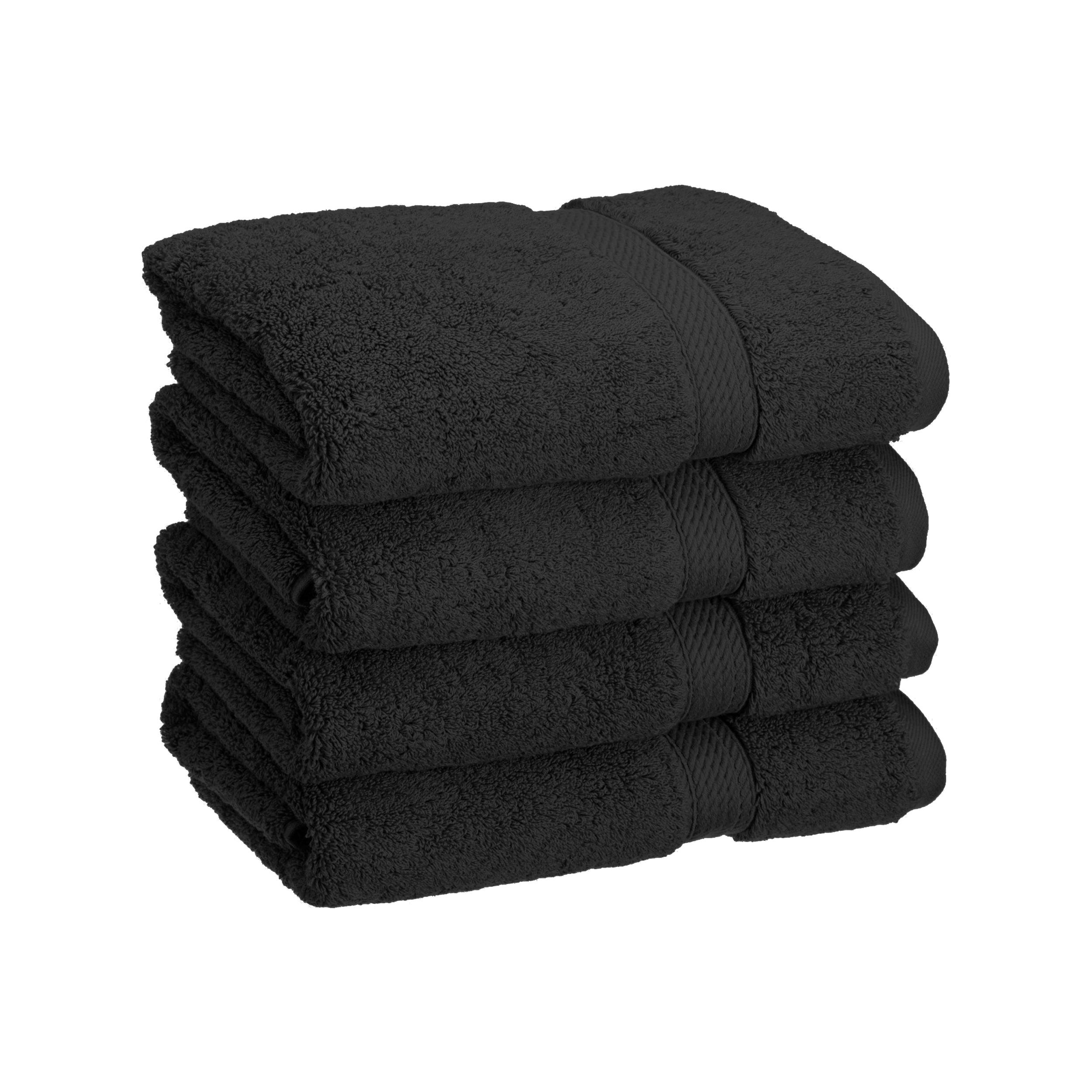 Superior 900GSM Long Stapled Combed Cotton 4-Piece Hand Towel Set
