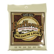 Ernie Ball Earthwood Medium Light Acoustic Strings, 80/20 Bronze .12-.54, P02003