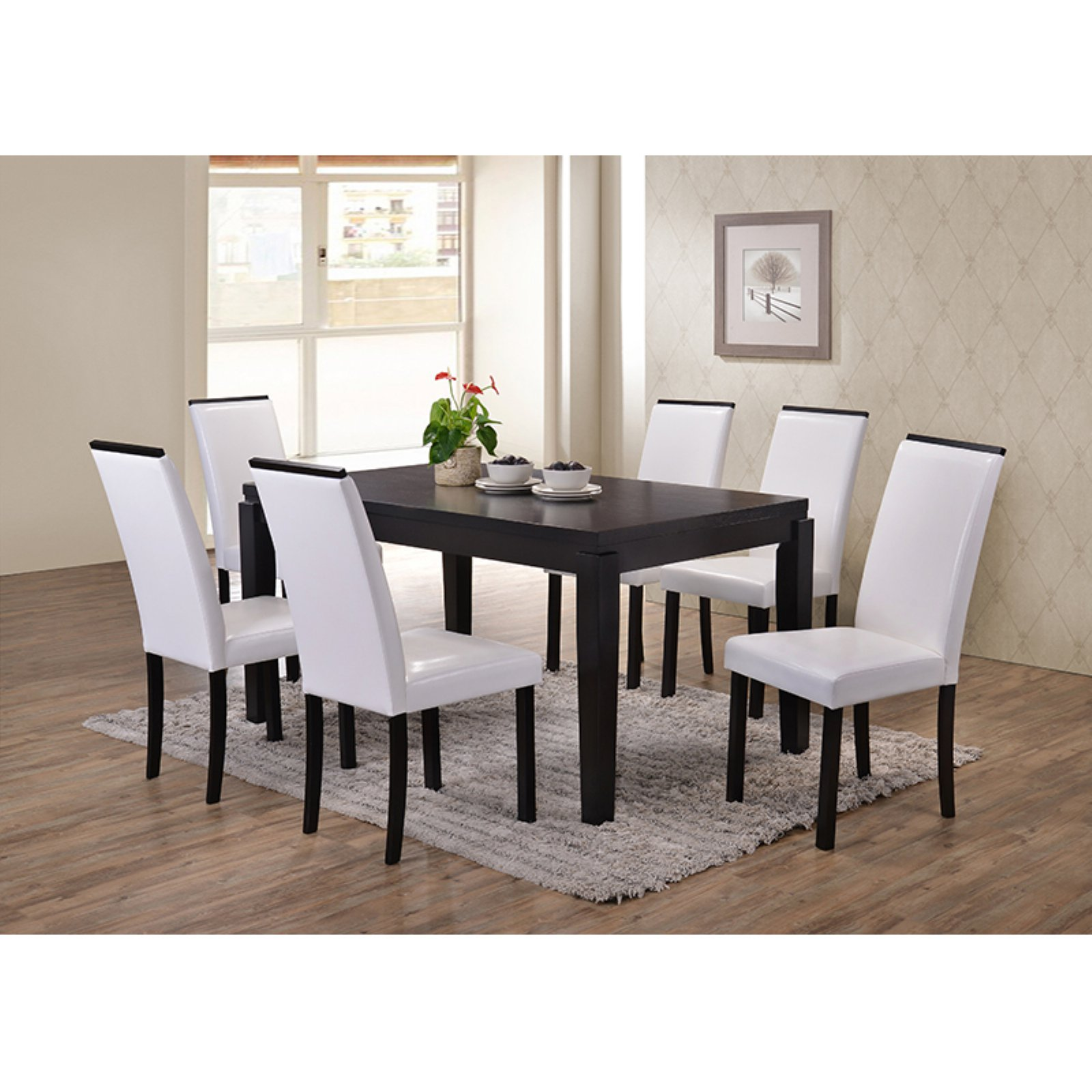K U0026amp; B Furniture Hatfield 7 Piece Dining Set