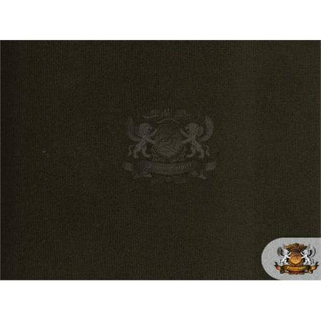Velvet Suede Cotton Backing Drape Upholstery BELLA Fabric 21 PEWTER / 58