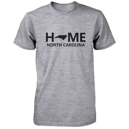 Nc State Wolfpack Merchandise - Home NC State Grey Men's T-Shirt US North Carolina Hometown Tee
