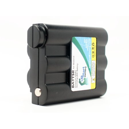 Midland GXT-795 Battery - Replacement for Midland BATT-5R Two-Way Radio Battery (700mAh, 6V, NI-MH) - image 4 de 4