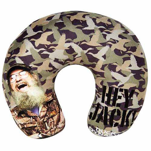 Duck Dynasty Plush Neck Pillow