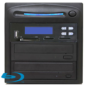 SySTOR 1:1 Blu-ray BDXL Disc Duplicator + USB/SD/CF to Disc Backup Copier Tower