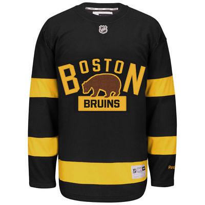 Boston Bruins NHL Reebok 2016 Winter Classic Youth Premier Jersey - Youth L/XL