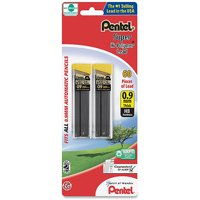 Pentel Super Hi-Polymer Lead, 0.9mm, Thick, 60 ct