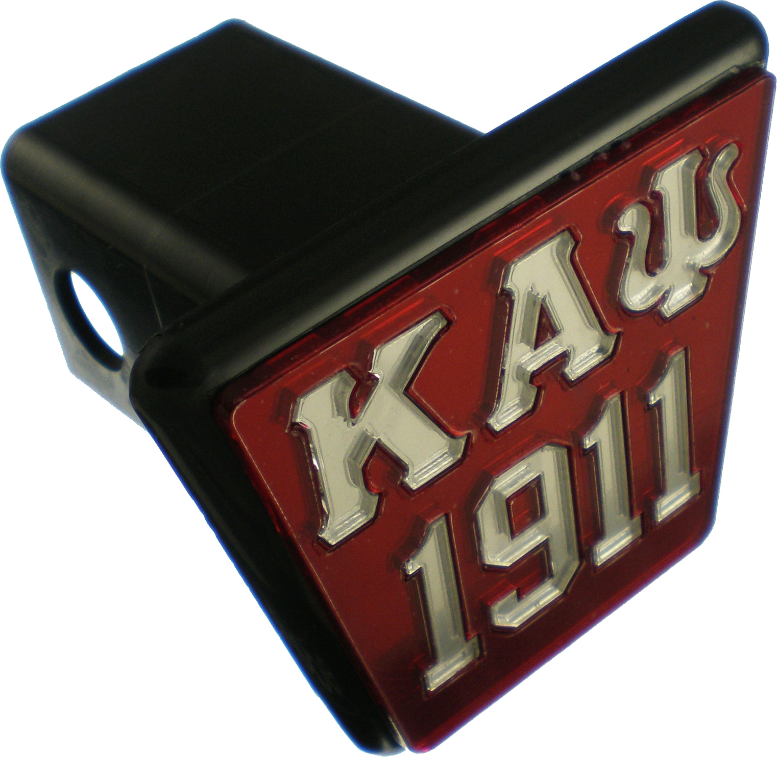 Cultural Exchange Kappa Alpha Psi 1911 Trailer Hitch Cover Red//Silver - 2 R