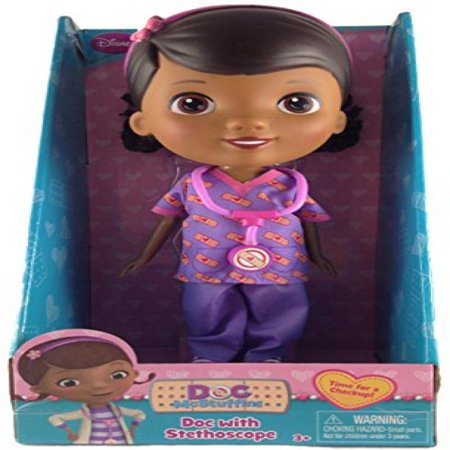 Doc McStuffins Scrubs Outfit Time for a Checkup Exclusive Doll by Just Play](Doc Mcstuffins Scrubs)