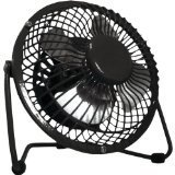 Optimus OPSF4040B 4 inch Personal Metal Fan