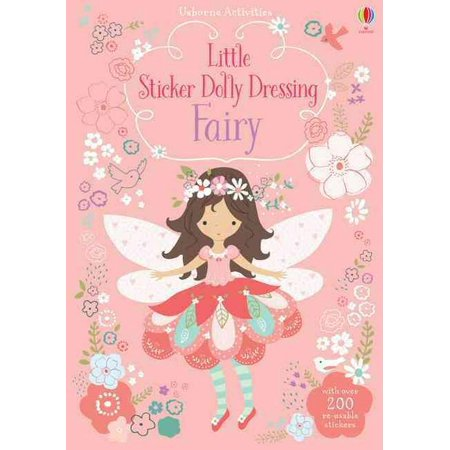 Little Sticker Dolly Dressing Fairy (Paperback) - Dressing Up Fairies