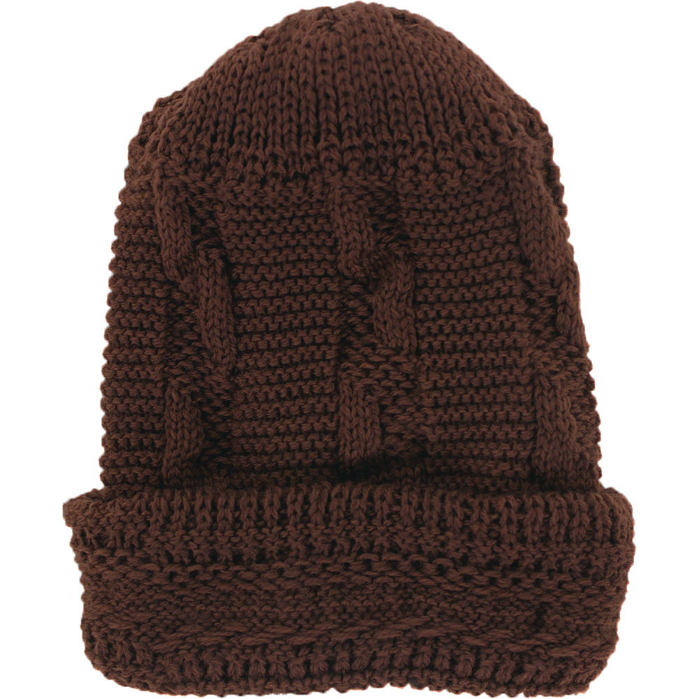 Trend By You Thick Cable Knit Beanie Hat