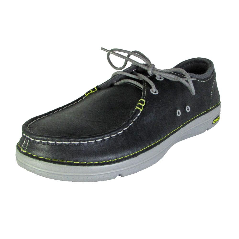 1ca93a604a693 Buy Crocs Mens Thompson II.5 Lace Moc Toe Loafer Shoes