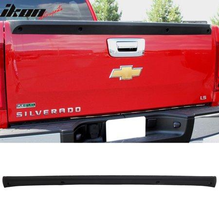 Compatible with 07-13 Silverado Sierra OEM Factory Tailgate Protector Spoiler PP Top Cap Oem Wing Spoiler