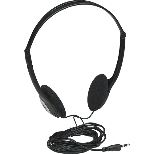 """Manhattan Products 177481 Manhattan Lightweight Stereo Headphones with Cushioned Earpads - Long cord easily reaches desktop and notebook computers and other devices"""