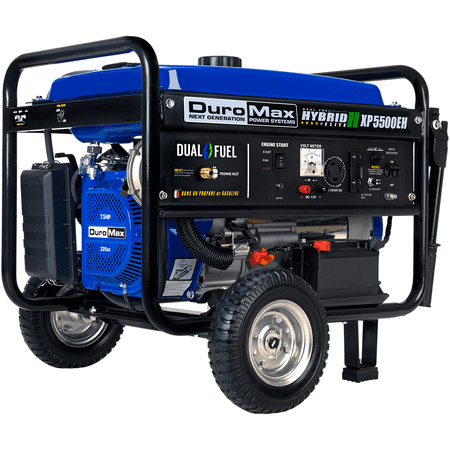 DuroMax XP5500E 5500-Watt 7.5-Hp 36.6-Amp Portable Electric Start Gas Powered
