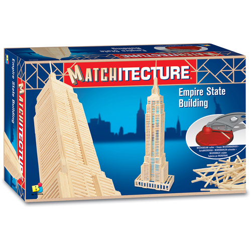 Matchitecture Empire State Building Building Kit
