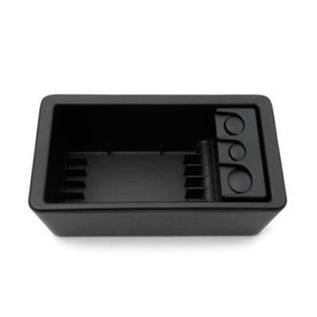 GM # 19154713 Front Floor Console Coin and CD/DVD Holder - Ebony, 2007-2013 Avalanche Silverado Suburban Tahoe Sierra Yukon Floor Console OEM NEW By General Motors Ship from US ()