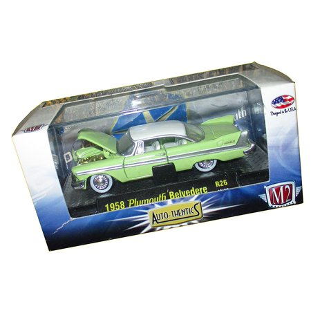 Plymouth Belvedere Light Greenwhite 40 Model Car Readymade Inspiration Sewing Machines Plymouth