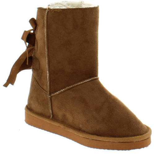 Shoes of Soul Women's Bow Warm Boots