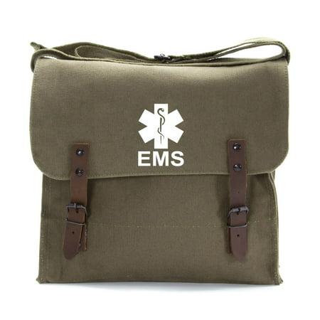 EMS Emergency Medical Services Army Heavyweight Canvas Medic Shoulder