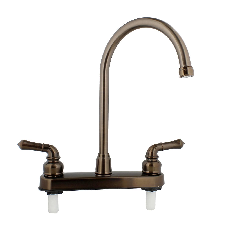 Empire Faucets Rv Kitchen Faucet Replacement Gooseneck Spout And Handles Walmart Com Walmart Com