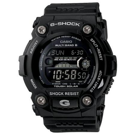 Fi Shock Solar Shock - Casio GW7900B-1A Men's Black Rescue Multi Band Atomic Solar G Shock Watch