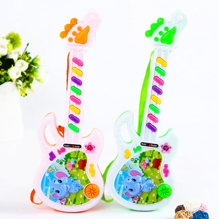 New Fashion Electric Guitar Toy Musical Play For Kid Boy Girl Toddler Learning Electron