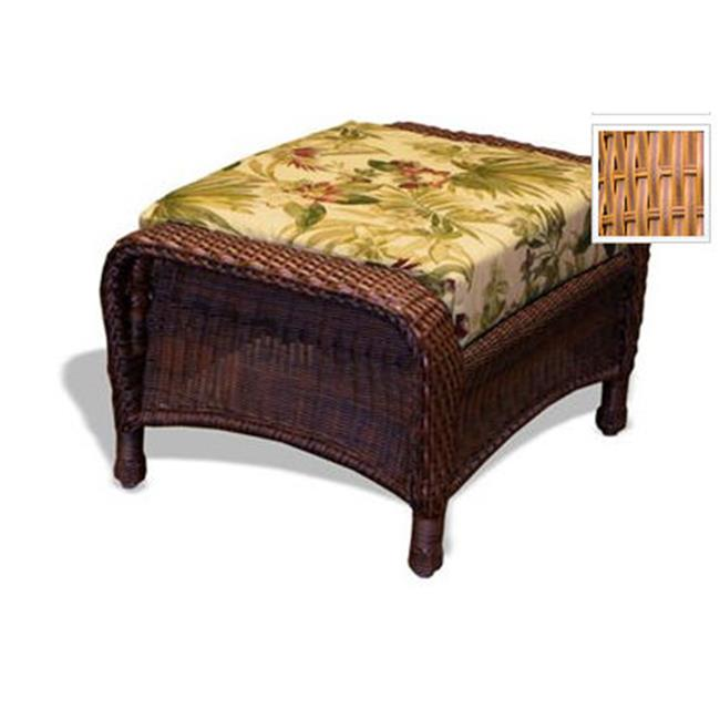 Tortuga LEX-6M Sea Pines Resin Wicker Ottoman---Mojave