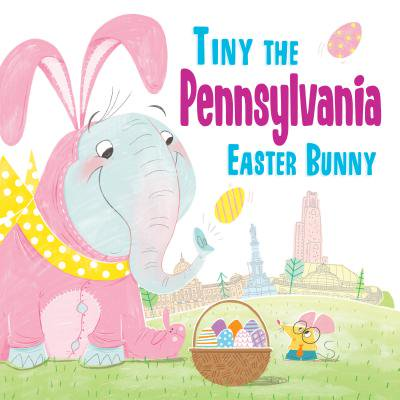 Tiny the Pennsylvania Easter Bunny - Easter Bunny Coloring Page