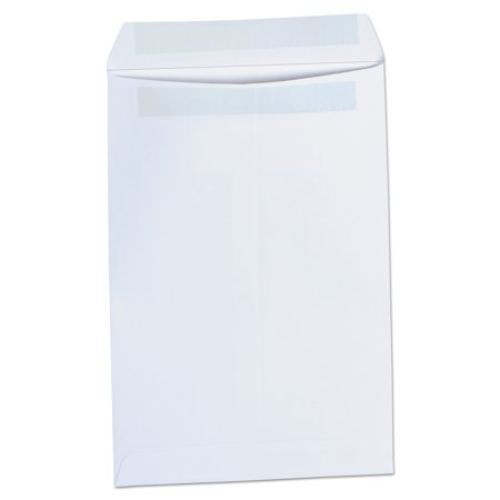 Universal Self Seal Catalog Envelope, 6 x 9, White, 100/Box (White Self Sealing Catalog Envelopes)