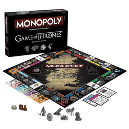 Game Of Thrones Monopoly Board Game (Gift Idea)