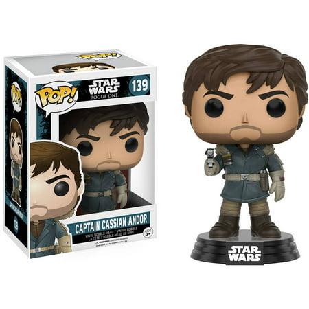 Funko POP! Star Wars Rogue One, Captain Cassian Andor for $<!---->