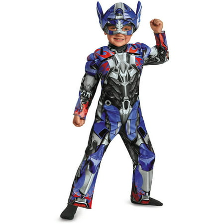 Transformers Movie 4 Optimus Prime Toddler MuscleHalloween Costume (Optimus Prime Transformer Halloween Costume)